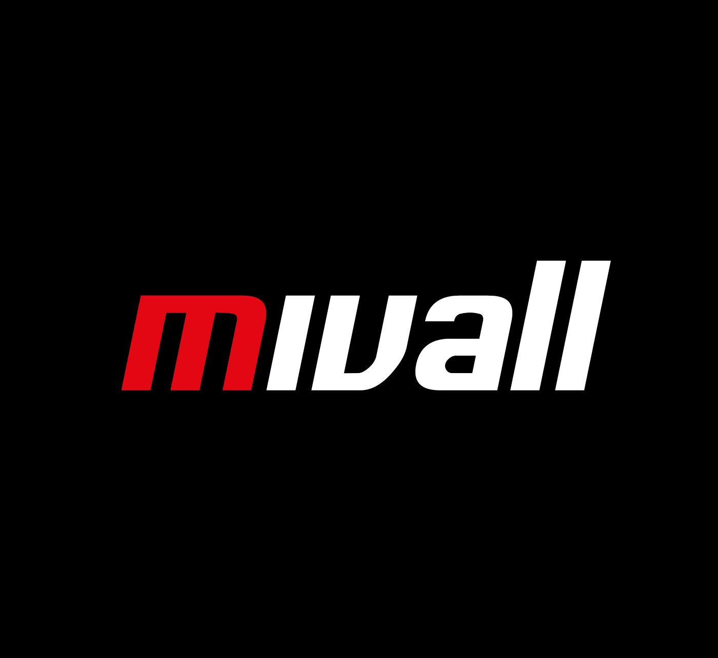 Mivall Logo Weiss Transparent