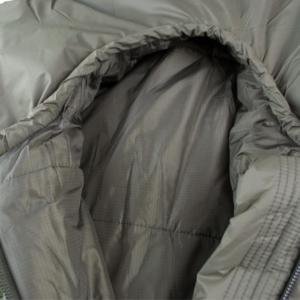 Mivall Habitat Militärschlafsack Detail Kopf 2