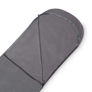 Mivall Fleeceinlett Decke grau