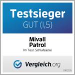 Mivall Patrol - Schlafsäcke Testsieger (1,5)